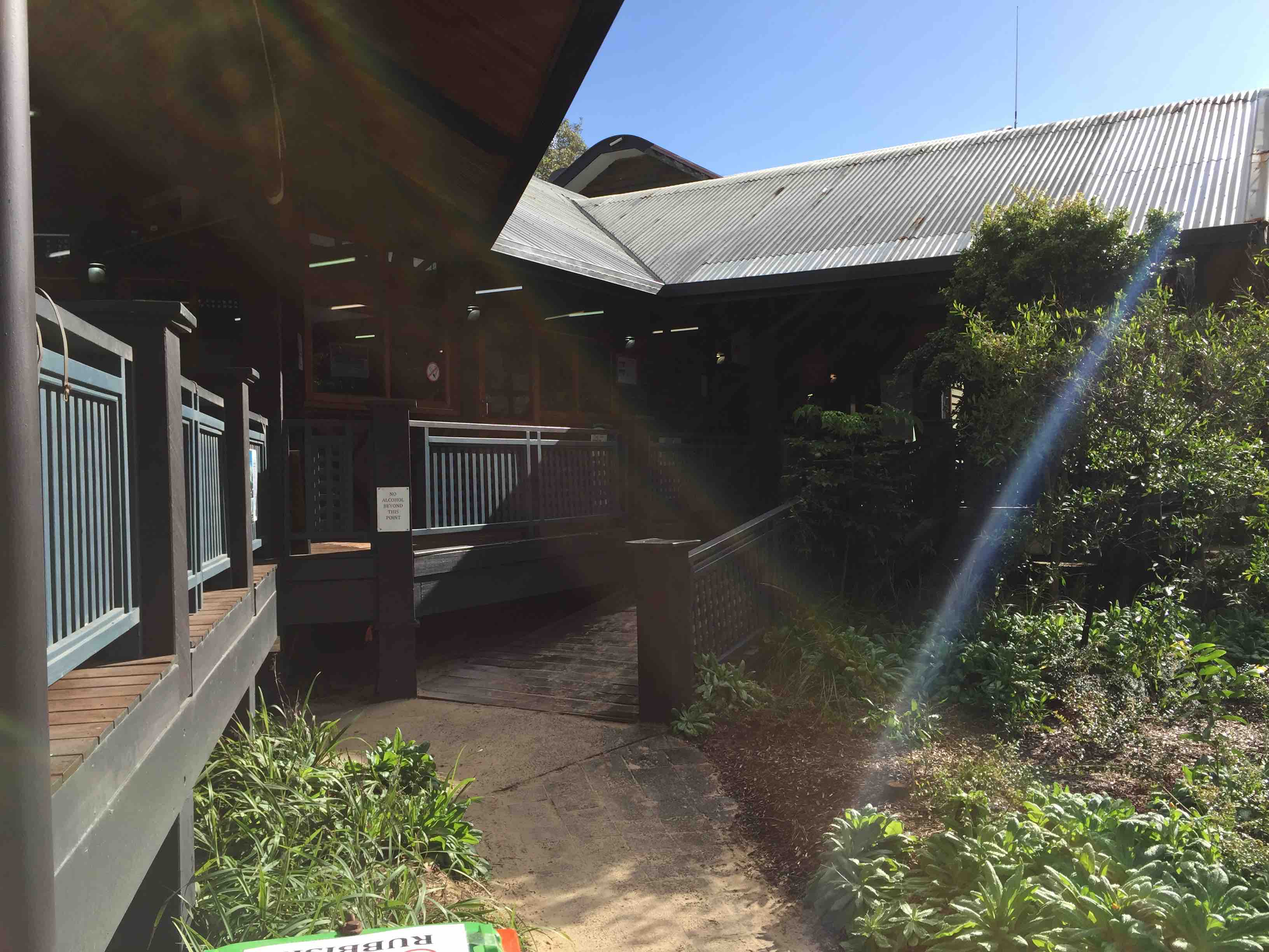 Exterior PWD access | Fraser Island Retreat | Happy Valley