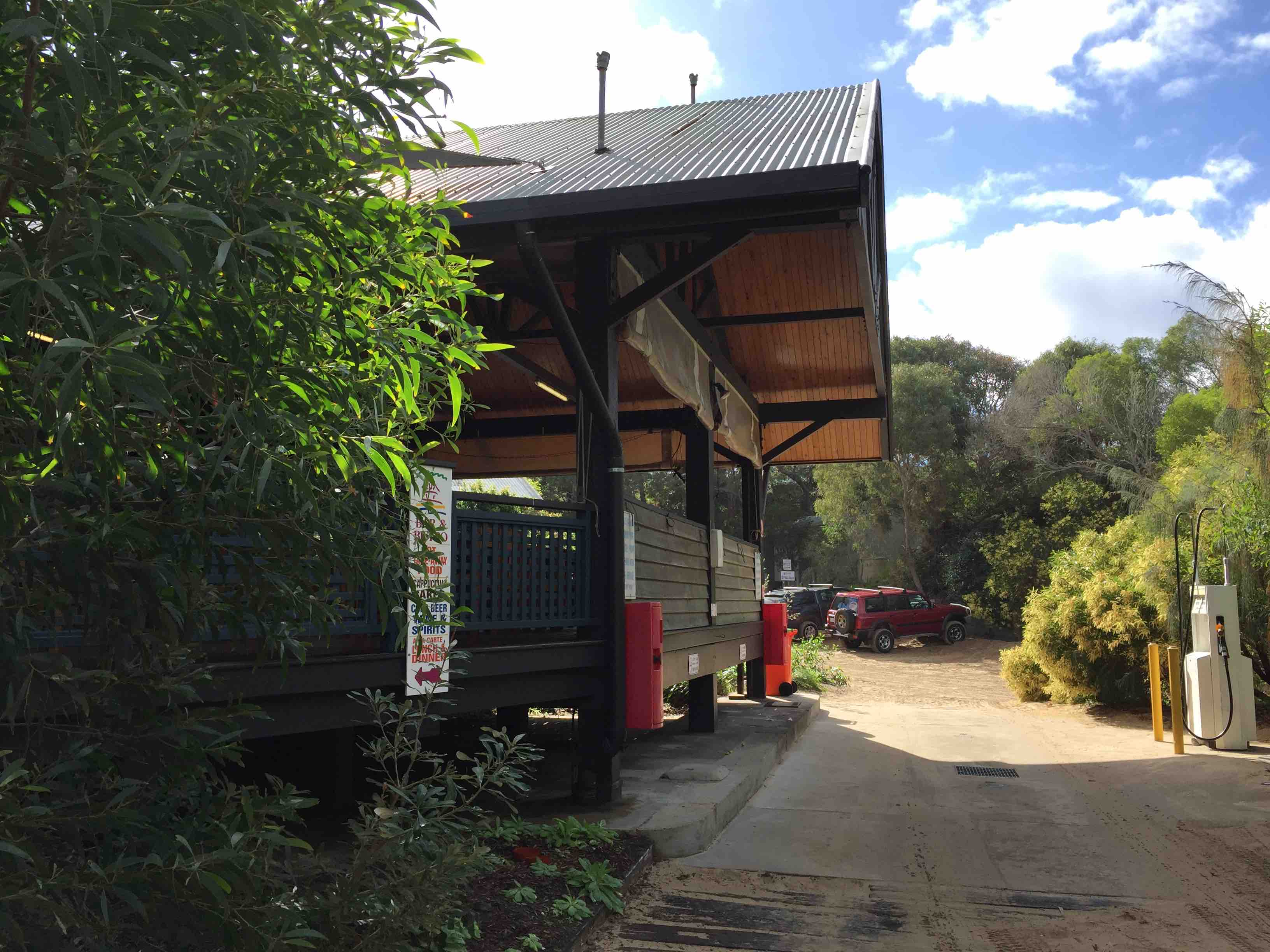 Fuel Driveway | Fraser Island Retreat | Happy Valley