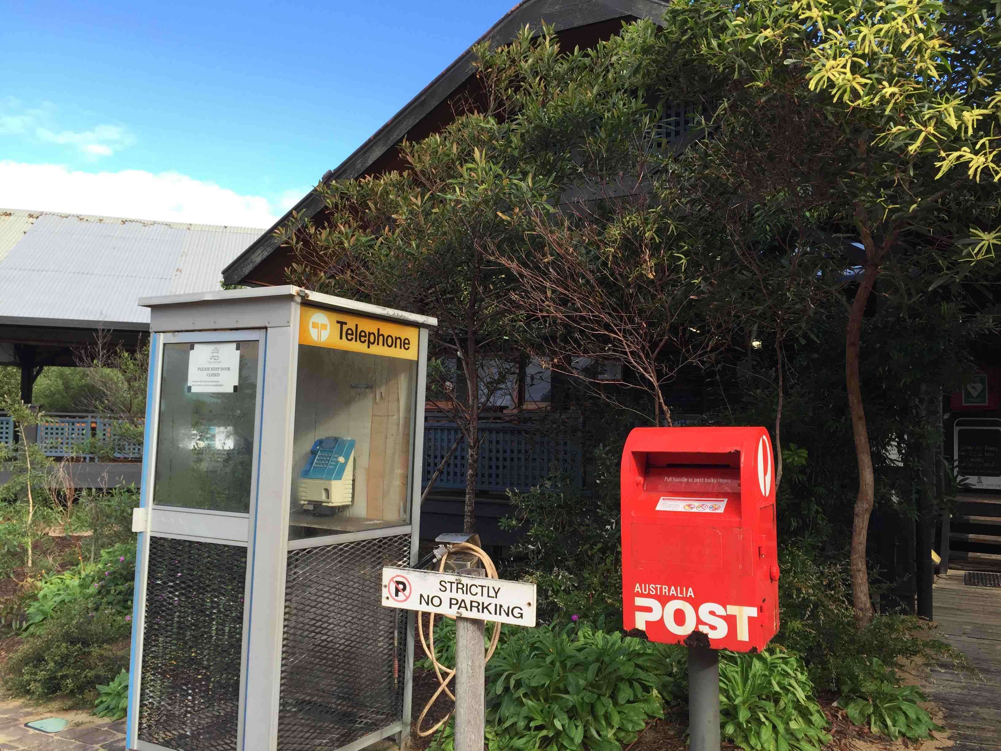 Phone & Postbox | Fraser Island Retreat | Happy Valley