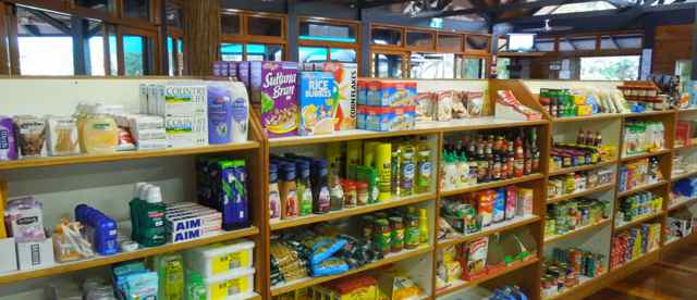Range of Basic Supplies  | Fraser Island Retreat | Happy Valley