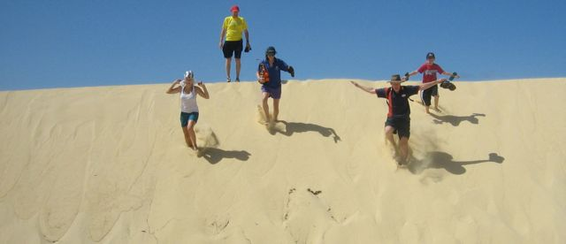 Wabby Sandblow | Fraser Island Retreat | Happy Valley