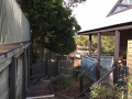 Cabins view beside pool to guest entry | Fraser Island Retreat | Happy Valley
