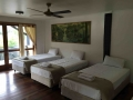 Hotel style rooms beds 4 singles | Fraser Island Retreat | Happy Valley