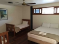 Hotel style rooms beds Q&2S | Fraser Island Retreat | Happy Valley