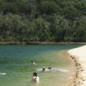 Lake Wabby Swimming | Fraser Island Retreat | Happy Valley